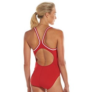 Women's Dolfin Team Solid DBX Back Competitive One-Piece Swimsuit
