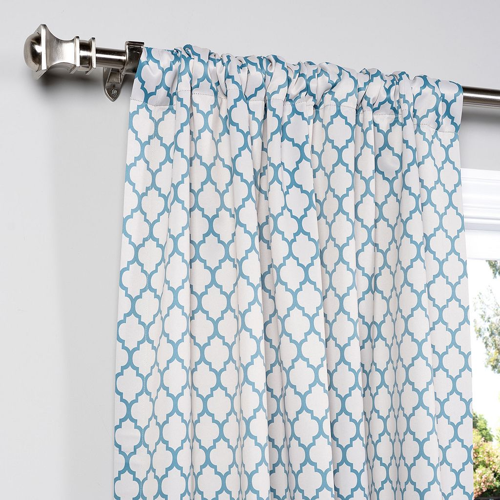 EFF Casablanca Blackout Window Curtain - 50'' x 63''