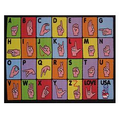 Fun Rugs Fun Time Sign Rug