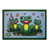 Fun Rugs Fun Time Frogs Rug