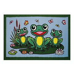 Fun Rugs Fun Time Frogs Rug