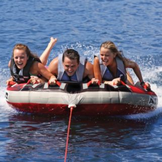 Airhead G-Force Inflatable Triple Rider Towable Tube