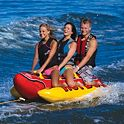 Kwik Tek Airhead Hot Dog 3-Person Watersports Towable