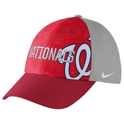 Adult Nike Washington Nationals Woodland Camo Classic Flex Cap