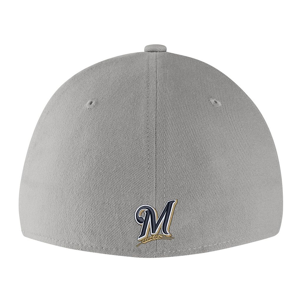 Adult Nike Milwaukee Brewers Woodland Camo Classic Flex Cap