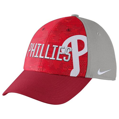 Adult Nike Philadelphia Phillies Woodland Camo Classic Flex Cap