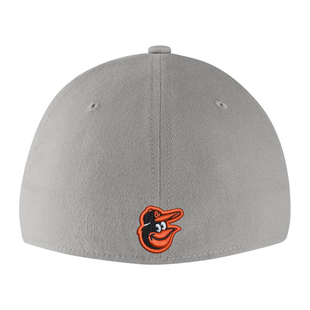 Adult Nike Baltimore Orioles Woodland Camo Classic Flex Cap