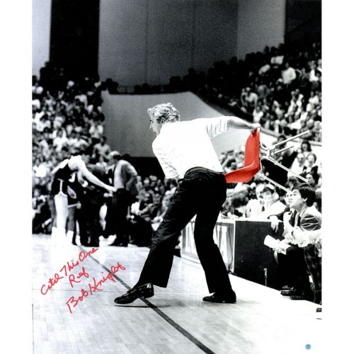 Steiner Sports Bob Knight Signed 20″ x 24″ Photo