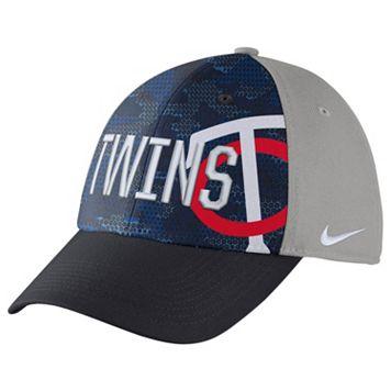 Adult Nike Minnesota Twins Woodland Camo Classic Flex Cap