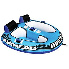 Airhead Mach 2 Inflatable Double Rider Towable Water Tube