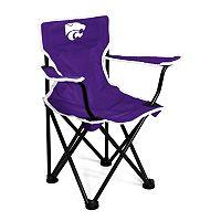 Toddler Logo Brand Kansas State Wildcats Portable Folding Chair