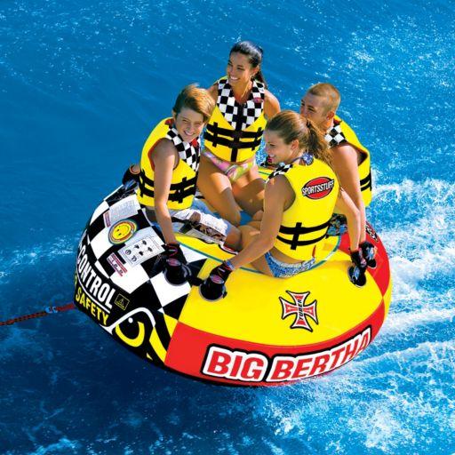 Sportsstuff Big Bertha Towable Quadruple Rider Water Tube