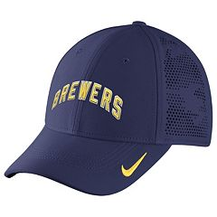 Adult Nike Milwaukee Brewers Dri-FIT Vapor Classic Flex-Fit Cap