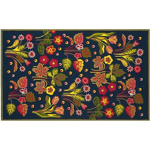 Safavieh Four Seasons Haines Floral Indoor Outdoor Rug
