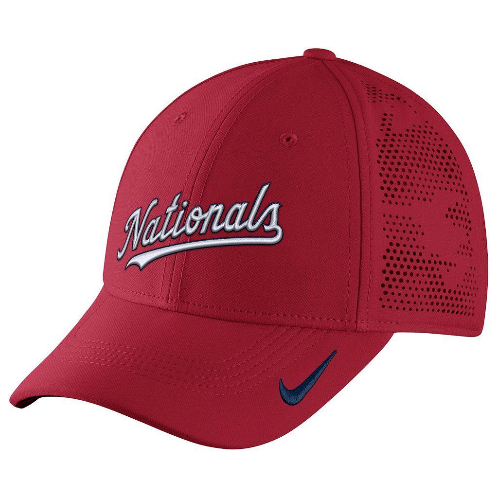 Adult Nike Washington Nationals Vapor Classic Stretch-Fit Cap