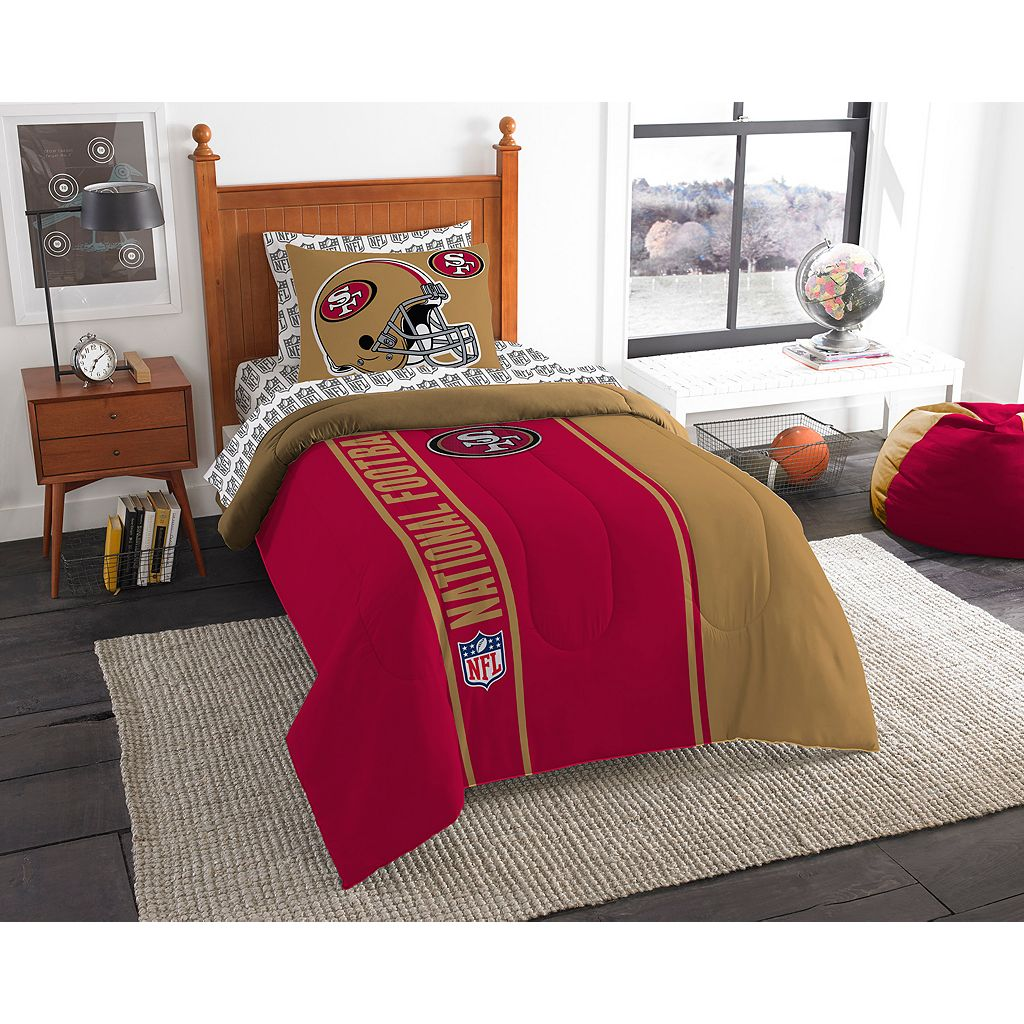 San Francisco 49ers Soft & Cozy Twin Comforter Set by Northwest