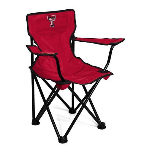 Toddler Logo Brand Texas Tech Red Raiders Portable Folding Chair