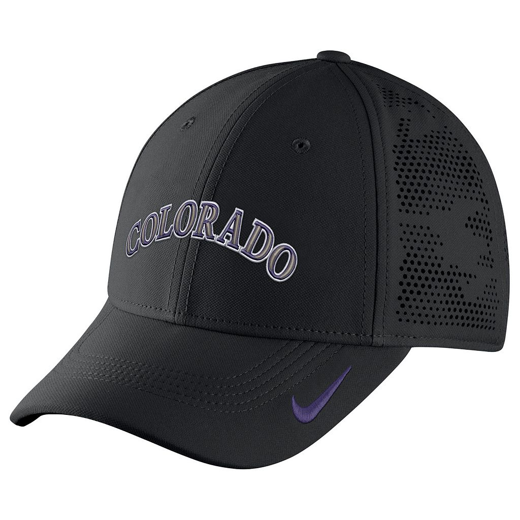 Adult Nike Colorado Rockies Vapor Classic Stretch-Fit Cap