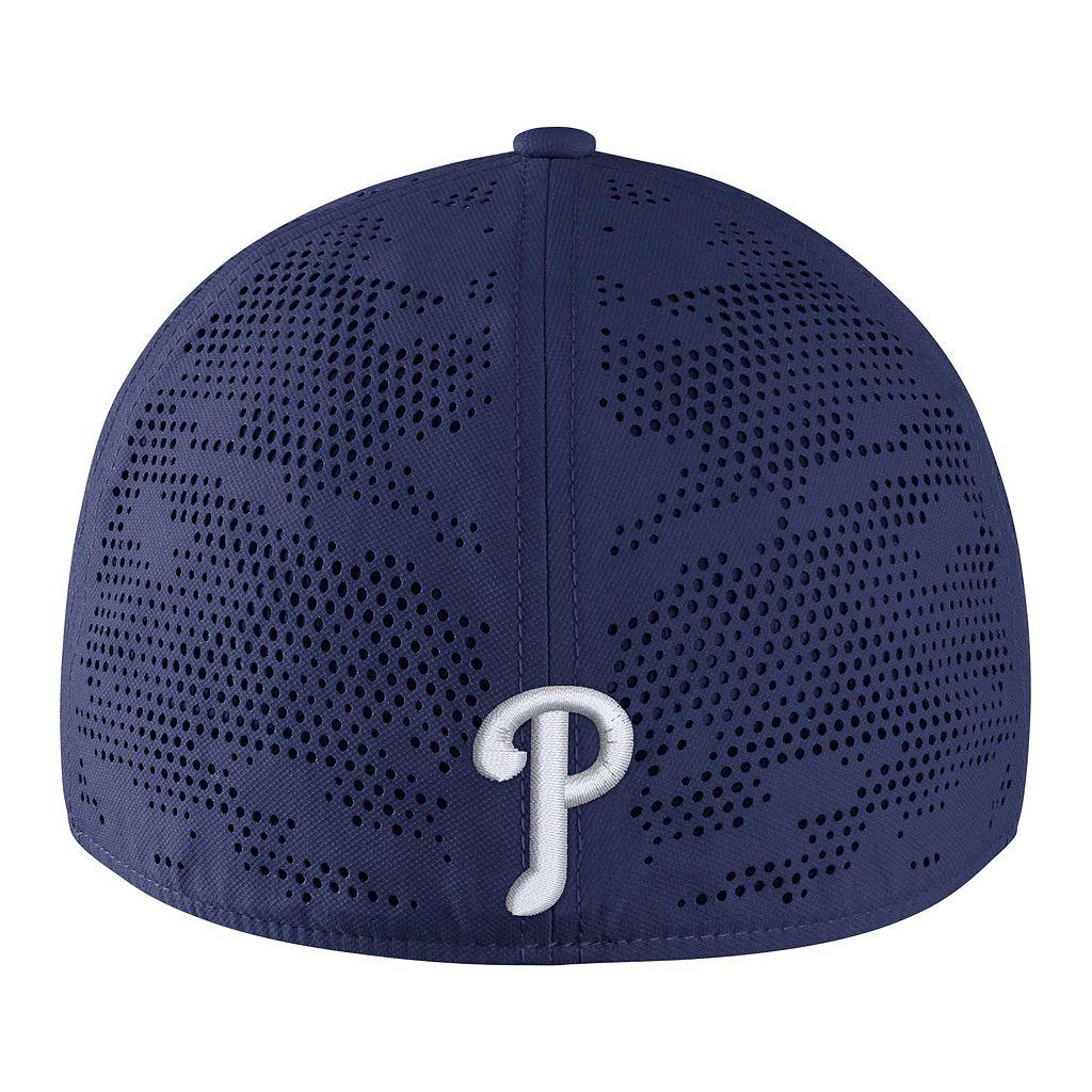 Adult Nike Philadelphia Phillies Vapor Classic Stretch-Fit Cap