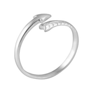 Itsy Bitsy Sterling Silver Arrow Bypass Ring