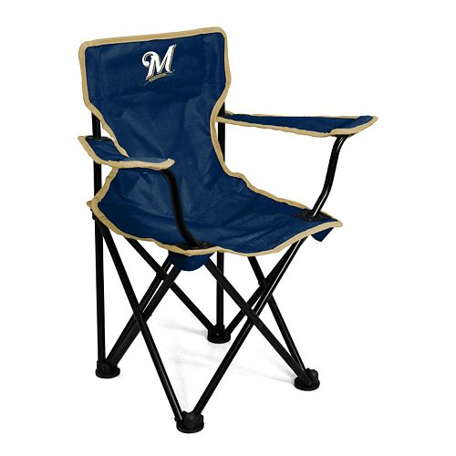 Toddler Logo Brand Milwaukee Brewers Portable Folding Chair