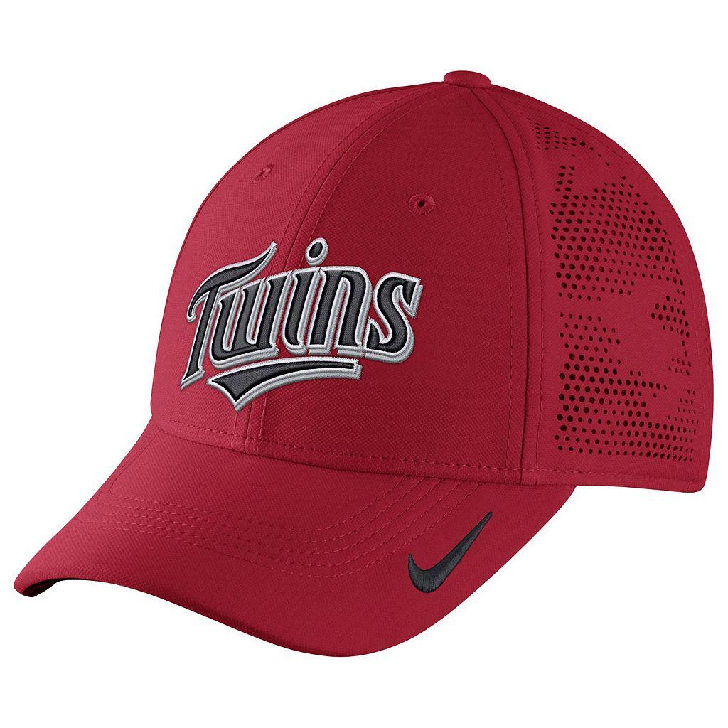 Adult Nike Minnesota Twins Vapor Classic Stretch-Fit Cap