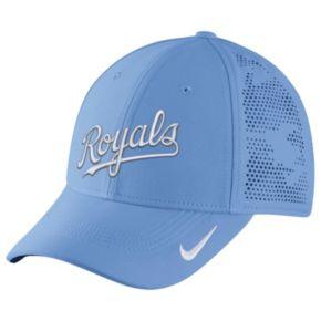 Adult Nike Kansas City Royals Vapor Classic Stretch-Fit Cap