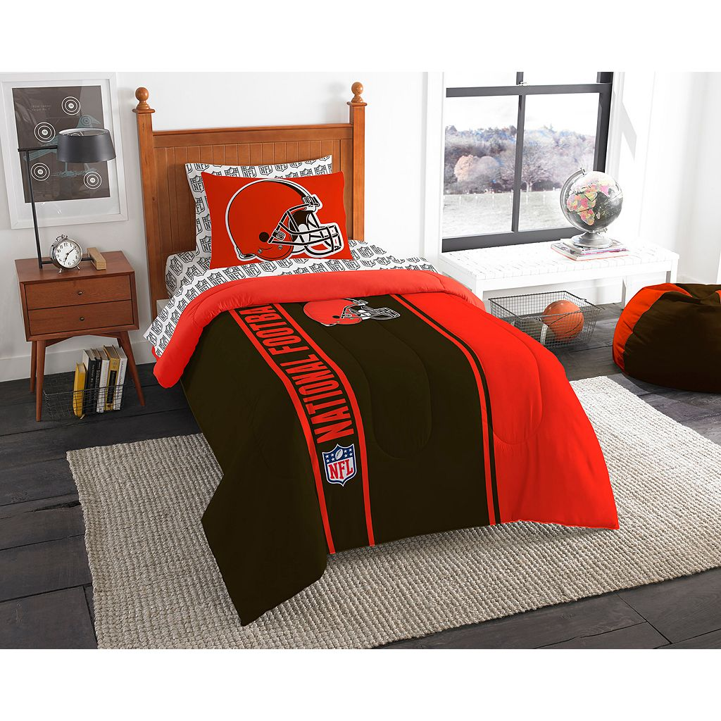 Cleveland Browns Soft & Cozy Twin Comforter Set by Northwest