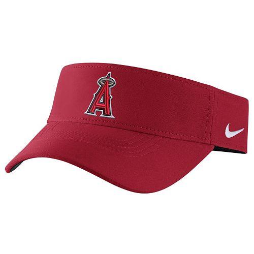 Adult Nike Los Angeles Angels of Anaheim Vapor Dri-FIT Visor