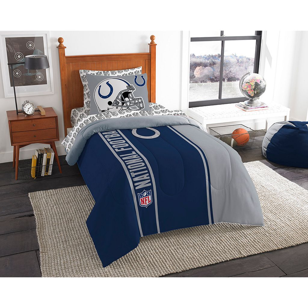 Indianapolis Colts Soft & Cozy Twin Comforter Set by Northwest