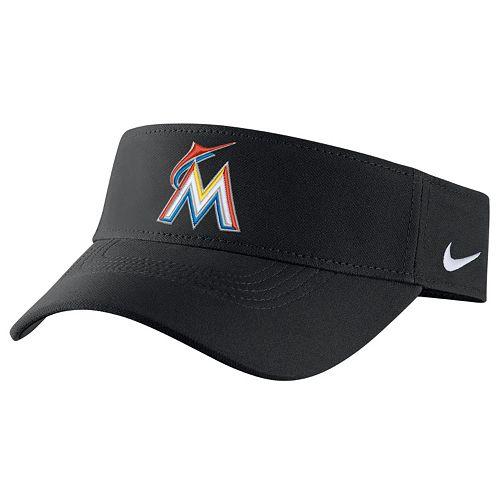 Adult Nike Miami Marlins Vapor Dri-FIT Visor