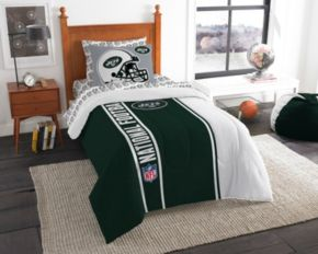 New York Jets Soft & Cozy Twin Comforter Set by Northwest