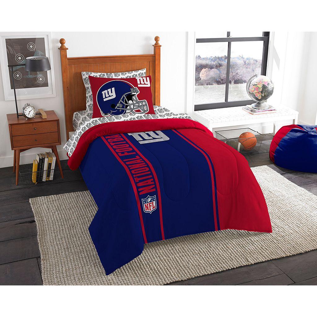 New York Giants Soft & Cozy Twin Comforter Set by Northwest