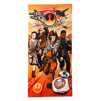 Star Wars: Episode 7 The Force Awakens Heroes Beach Towel