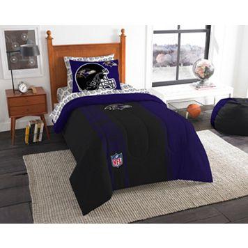 Baltimore Ravens Soft & Cozy Twin Comforter Set by Northwest