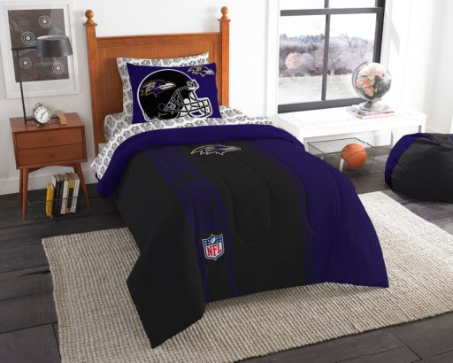 Baltimore Ravens Soft & Cozy Twin Comforter Set by Northwest