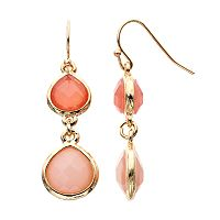 LC Lauren Conrad Teardrop Earrings