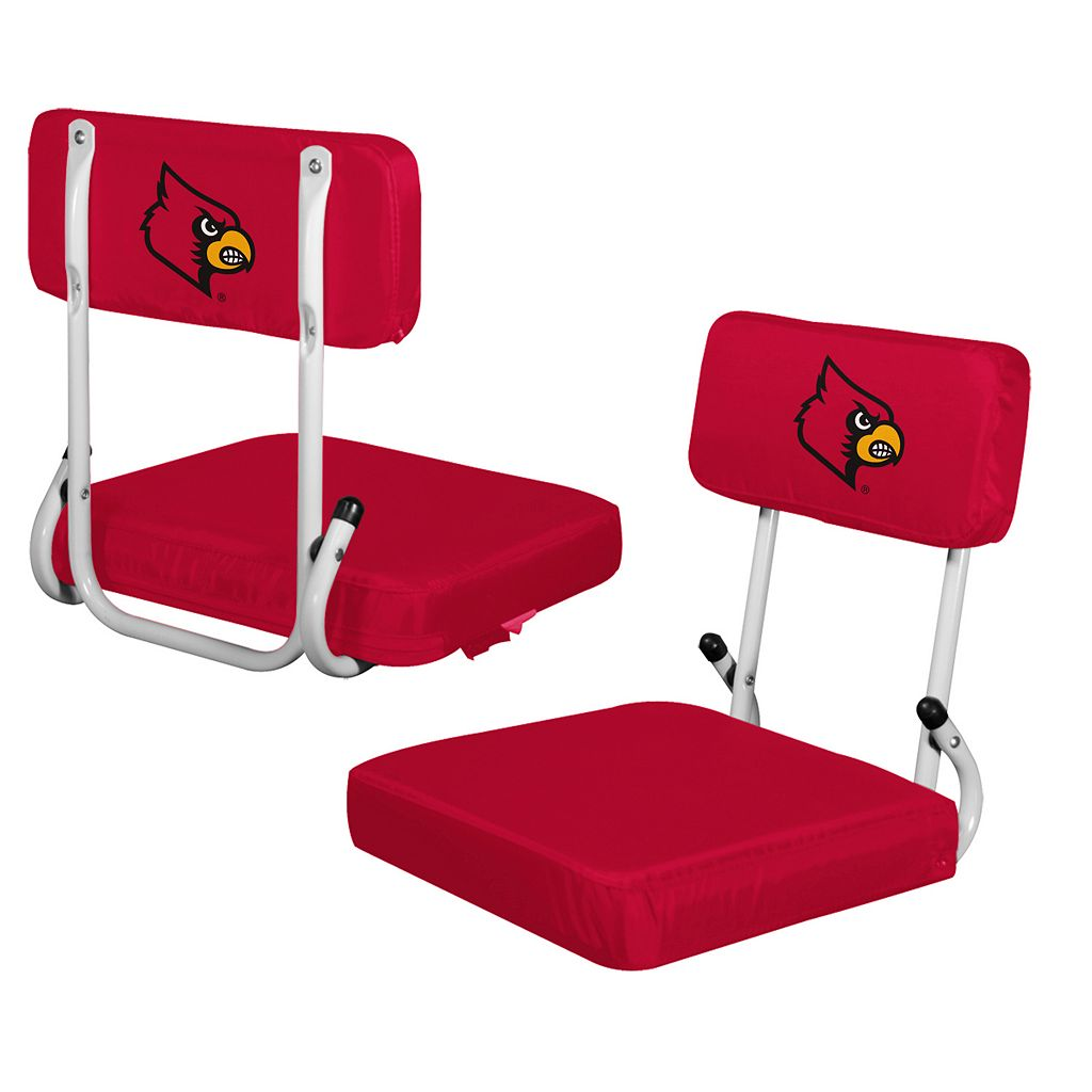 Logo Brand Louisville Cardinals Hard Back Stadium Seat