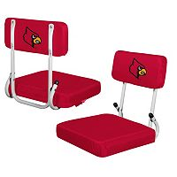 Logo Brand Louisville Cardinals Hard Back Stadium Seat
