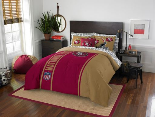San Francisco 49ers Soft & Cozy Full Comforter Set by Northwest
