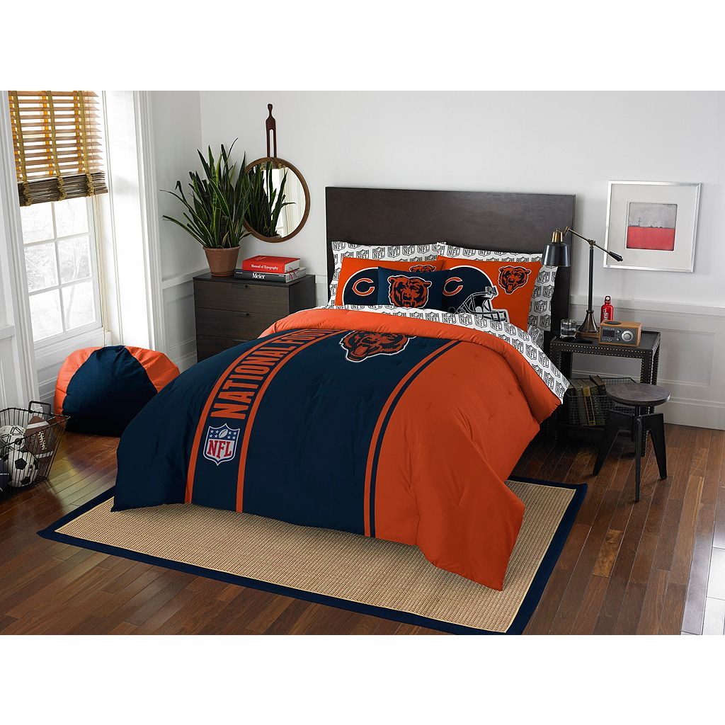 Chicago Bears Soft & Cozy Full Comforter Set by Northwest