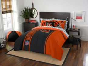 Cincinnati Bengals Soft & Cozy Full Comforter Set by Northwest