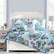 VCNY Samantha Reversible Quilt Set