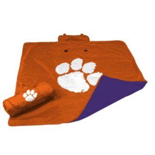 Logo Brand Clemson Tigers All-Weather Blanket