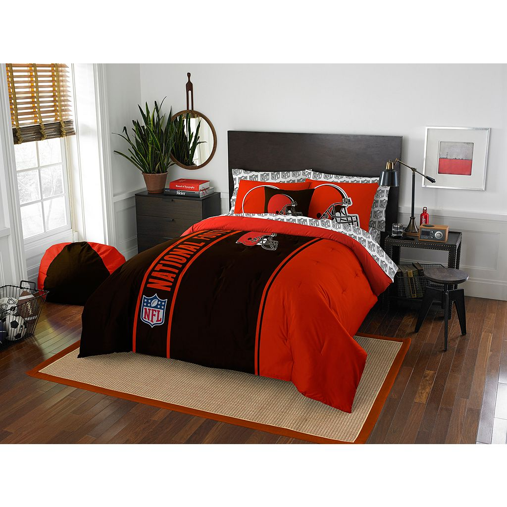 Cleveland Browns Soft & Cozy Full Comforter Set by Northwest