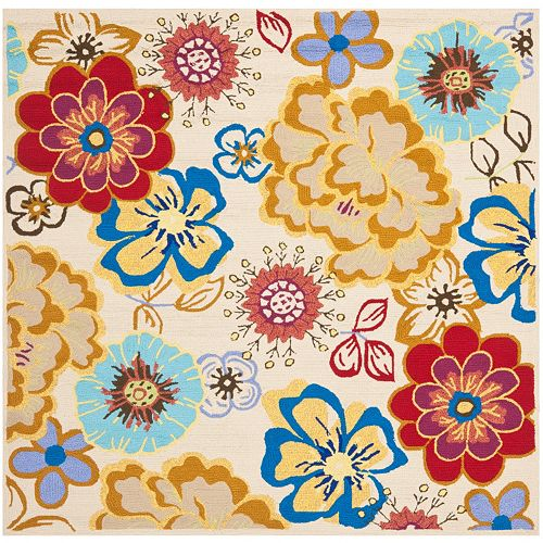 Safavieh Four Seasons Wellington Floral Indoor Outdoor Rug