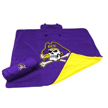 Logo Brand East Carolina Pirates All-Weather Blanket