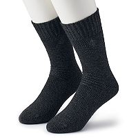 Men's Columbia 2-pack Brushed Fleece Crew Socks