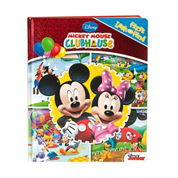 Disney's My First Look And Find Mickey Mouse Clubhouse