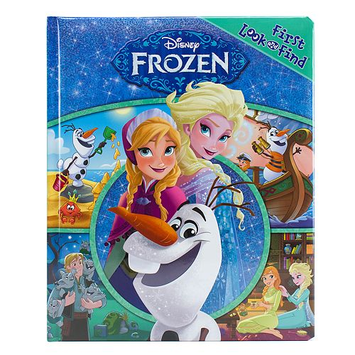 Disney's Frozen My First Look & Find